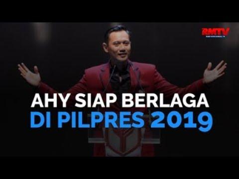 AHY Siap Berlaga Di Pilpres 2019
