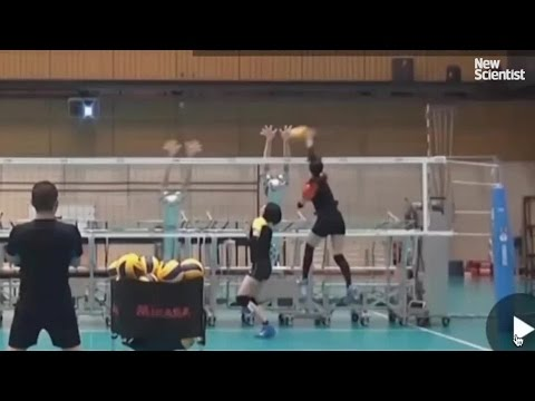 Japan s volleyball team test their volleyball
