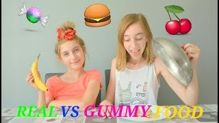Video REAL FOOD VS GUMMY FOOD CHALLENGE MP3, 3GP, MP4, WEBM, AVI, FLV Oktober 2017