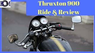 7. 2016 Triumph Thruxton 900 Review