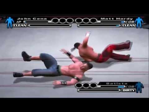 Smackdown Vs Raw Season Mode : John Cena - #17 END THIS MATCH PLEASE!!!