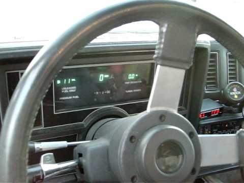 1984 Buick Grand National WideBand O2 install Upgrade