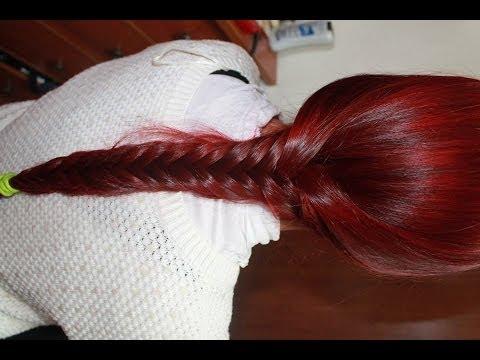Como tinturar el cabello de rojo. How to dye hair red with infrared manic panic.
