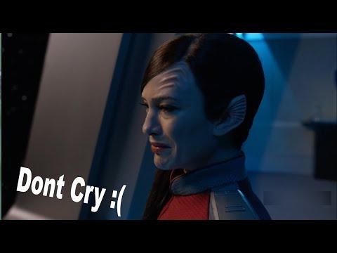 the orville season 2 episode 7 leutenant talla keyali cry