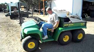 9. John Deere 6X4 Gator Utility Vehicle