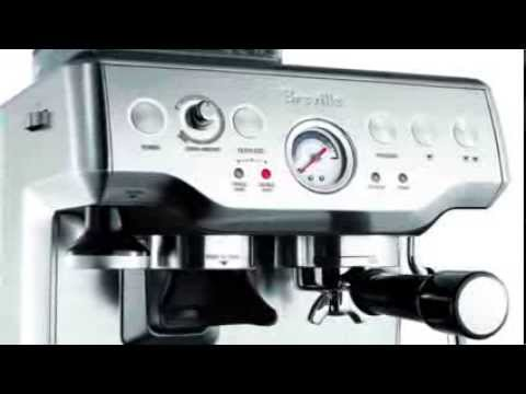 Breville BES860XL Barista Express Espresso Machine with Grinder