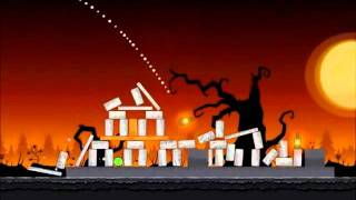 Angry Birds Seasons Walkthrough Trick or Treat 1-7