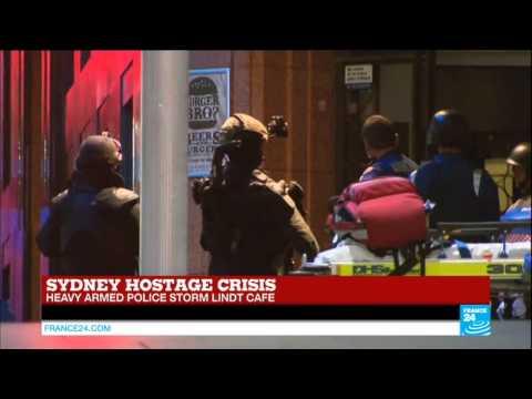 Police storm Sydney café to end hostage crisis - AUSTRALIA