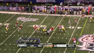 Zach Mettenberger vs Clemson (2012 Bowl)