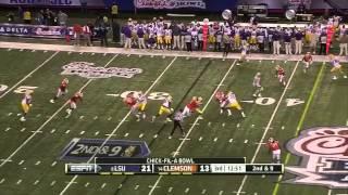 Zach Mettenberger vs Clemson (2012 Bowl)