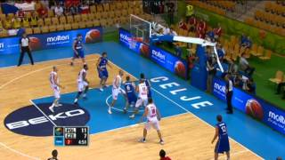 Block of the Game M.Gortat POL-CZE EuroBasket 2013