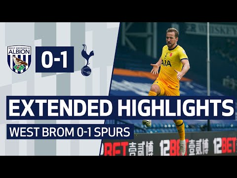 EXTENDED HIGHLIGHTS | WEST BROM 0-1 SPURS | Harry Kane's dramatic late goal seals three points!