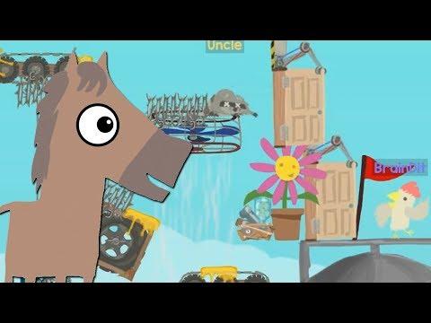 САМЫЙ СЛОЖНЫЙ УРОВЕНЬ! 100% УГАР! -  Ultimate Chicken Horse