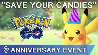 SAVE YOUR CANDIES ✦ DOUBLE XP EVENT COMING TO POKÉMON GO? by Trainer Tips