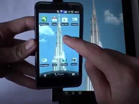 Video of Burj Khalifa live wallpaper
