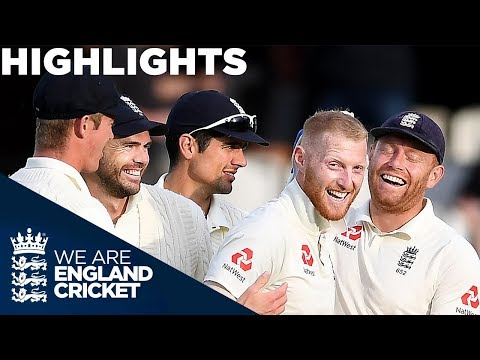 Buttler & Stokes Shine on Day Two | England v India 5th Test Day 2 2018 - Highlights (видео)