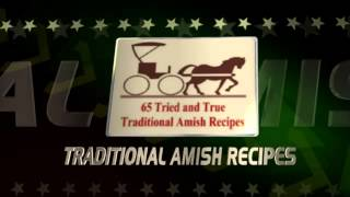 traditional Amish recipes YouTube video