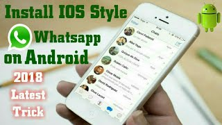 Video How to install iphone whatsapp on android||2018 Latest Trick|| MP3, 3GP, MP4, WEBM, AVI, FLV Agustus 2018