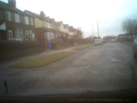 Car Cam - Fold's Lane Beauchief Sheffield