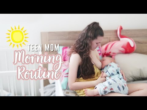 Teen Mom Morning Routine! ☀️