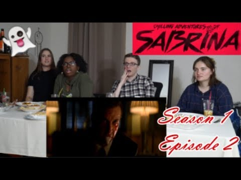 The Chilling Adventures of Sabrina Season 1 Episode 2 - The Dark Baptism - REACTION!!