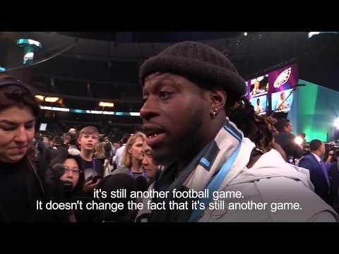 Hackney-born Jay Ajayi ready for Super Bowl LII with Philadelphia Eagles (видео)