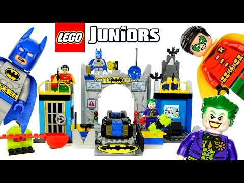 Vidéo LEGO Juniors 10672 : L'attaque de la Batcave