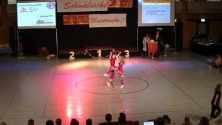 Kristina Schwingenschlögl & Moritz Schmidt - Schwäbische Meisterschaft 2013