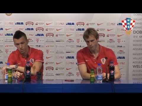 Strinić i Perišić najavljuju ogled s Bugarskom