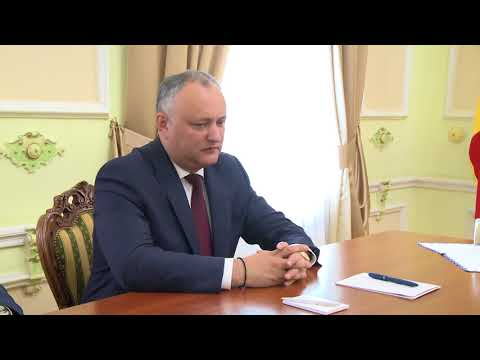 Igor Dodon: Relations between Moldova and Russia are developing steadily