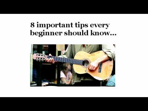 How To Play Guitar For Beginners - 8 Important Tips and Lessons For Beginner Guitarists