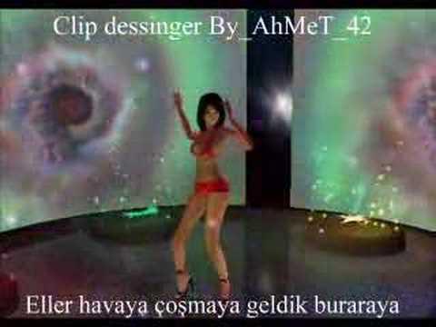Çılgın dans eden kız