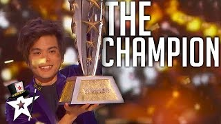 Video BEST Magician In The World on AGT Champions 2019 | Magicians Got Talent MP3, 3GP, MP4, WEBM, AVI, FLV Maret 2019