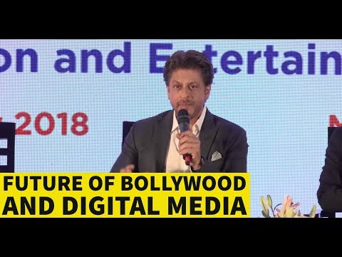 Shah Rukh Khan Talks About The Future Of Bollywood & Digital Media