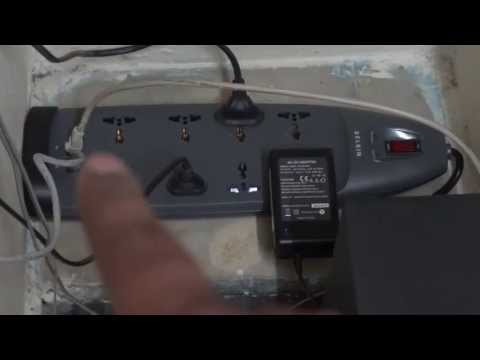 How to Connect Belkin 8 way Surge Protector