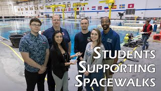 Students Supporting Spacewalks by Johnson Space Center