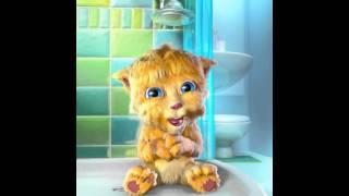 Talking Ginger SUPER!! No Me Quiero bañar