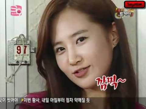 YURI - 1st song - SHINee - Ring Ding Dong 2nd song - Co-Ed - Bbiribbom Bberibbom 3rd song - Letters to Cleo - Bad Reputation.