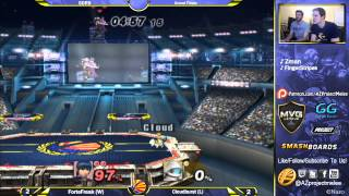 Cloudburst (Squirtle) vs ForteFreak (Charizard, Marth, Shiek): 5PM Fight Nights Grand Finals