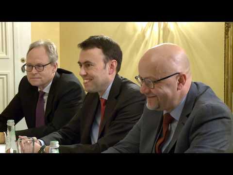 Президент Молдовы провел встречу с делегацией депутатов германского Бундестага