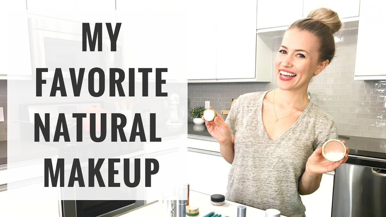Organic & Natural Makeup Favorites | Beauty Haul | Healthy Grocery Girl