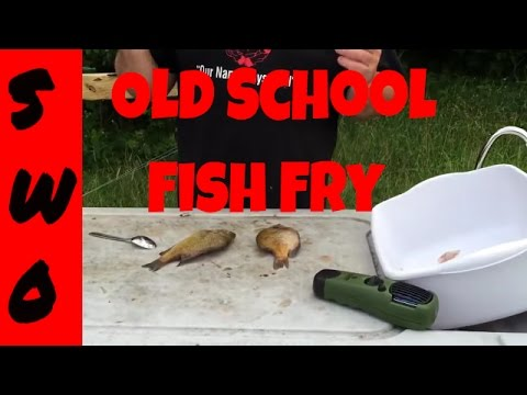 OLD SCHOOL Bluegill Cleaning And Cooking