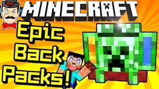 Minecraft ADVENTURE BACKPACKS! Epic Uses, Fluids, Tanks, Hoses, Melon Juice&More!