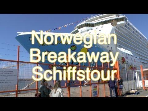 Norwegian Breakaway - Schiffstour und Rundgang - Norw ...
