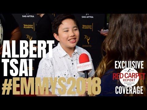 Albert Tsai interviewed at the 6th Dynamic & Diverse #Emmys #SAGAFTRA Celebration #Emmys70