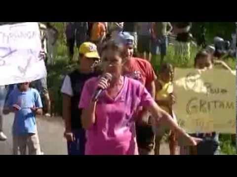 1º Protesto em Ibirajuba - Cidadãos pedindo segurança Part. 4 - PIC 0127