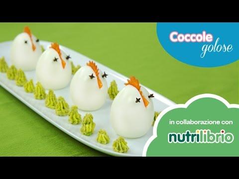 pulcini di uovo sodo e purè di fave - ricetta sana e divertente