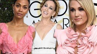 Golden Globe 2017 Fashion: Best & Worst Dressed!