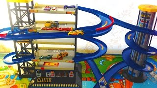Nonton Toy Car Garage Parking Playset with Hot Wheels cars Toys for boys Film Subtitle Indonesia Streaming Movie Download