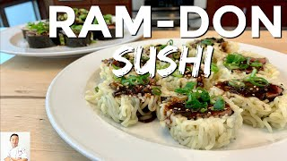 Ram-Don Sushi Roll (Parasite Movie) by Diaries of a Master Sushi Chef